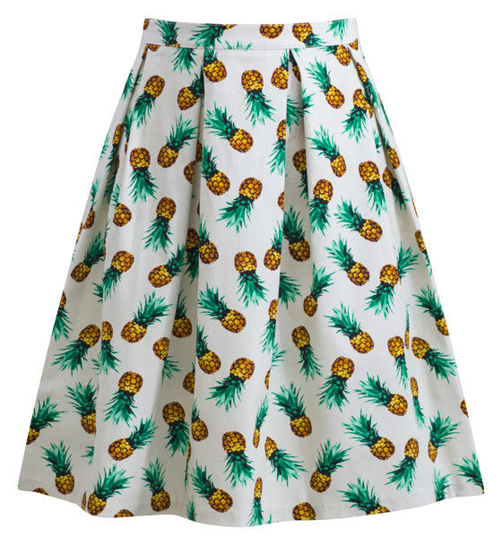 Retro Gal Pineapple Skirt