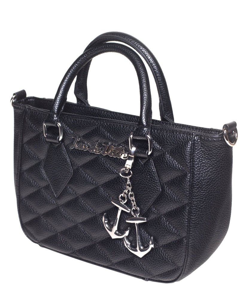 Hold Fast Mini Tote in Black Matte by Lux De Ville