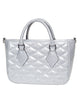 Hold Fast Mini Tote in Silver Thunderstruck by Lux De Ville