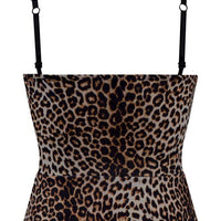 Miss Vixen Pinup Leopard Top - FINAL SALE