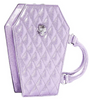 Elvira Coffin Mini Tote in Luscious Lilac Sparkle by Lux De Ville
