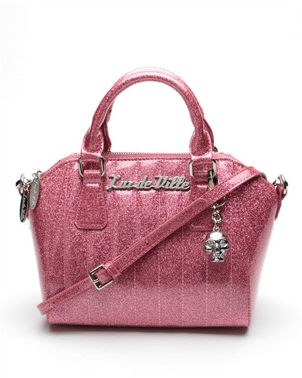 Lux De Ville Mini Vamp in Pink Sparkle