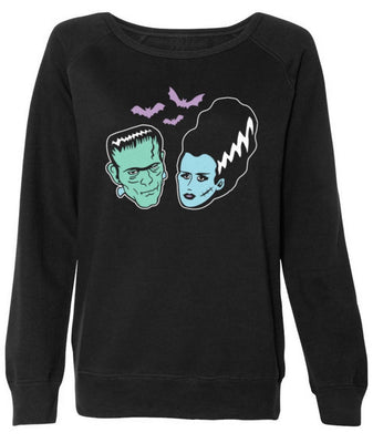 Monster Love Sweatshirt in Black