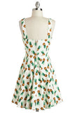 Tiki Style Pineapple Dress