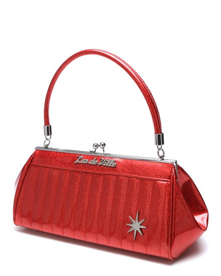 Lux De Ville Stardust Kiss Lock in Red Sparkle