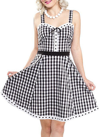 Gingham Picnic Dress by Sourpuss