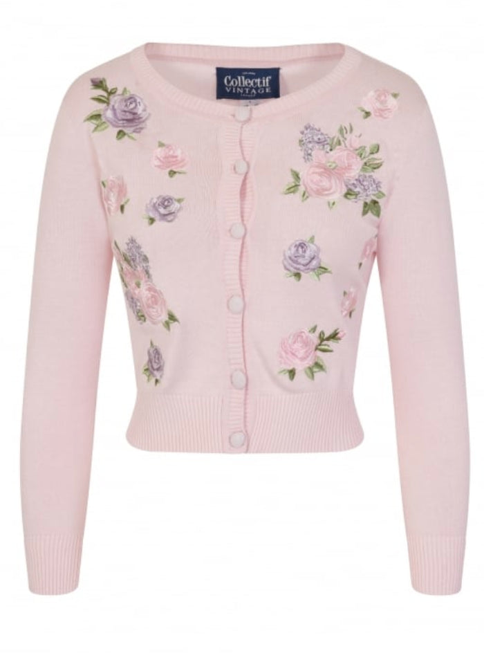Vintage Abigail English Garden Cardigan by Collectif