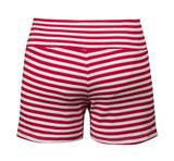 Sailor Striped Shorts - Red