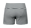 Sailor Girl Black Striped Shorts
