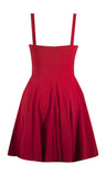 Sailor Girl Swing Dress - Red