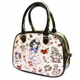 Suzy Sailor Bowler Handbag by Fluff *Limited Edition*