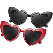Ghoul Gal Heart Shaped Cat Eye Sunglasses