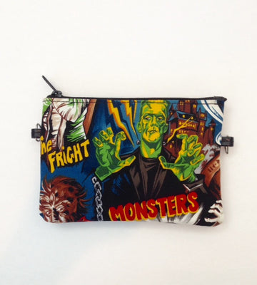 Horror Movie Frankenstein Monster Crossbody Bag