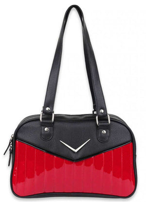 Bonneville Cadi Bowler Purse in Red Sparkle