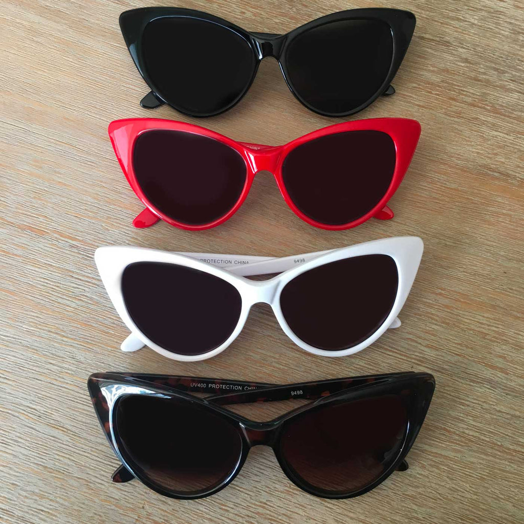 467ced10b 50's Gal Classic Cat Eye Sunglasses | Double Trouble Apparel