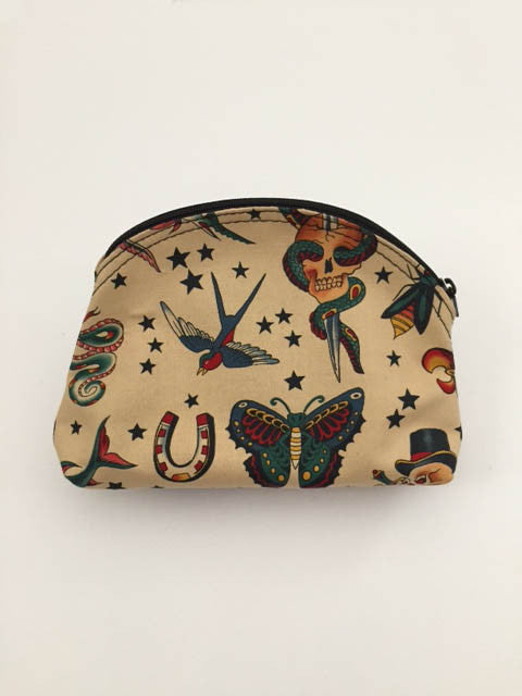 Sailor Jerry Inspired Make Up Bag