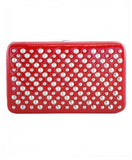 Red Patent Studded Wallet