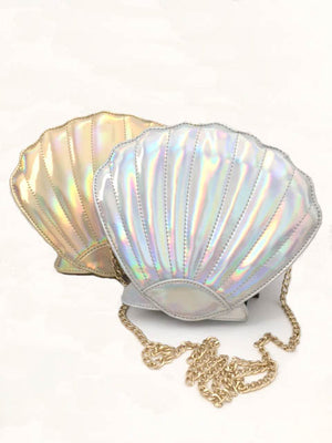 Sea Shell Mermaid Crossbody Handbag