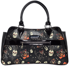 Black Cats Camille Purse by Sourpuss