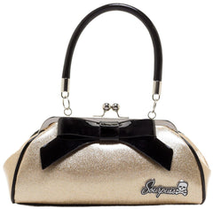 Champagne Gold Floozy Purse by Sourpuss