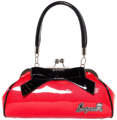 Red and Black Floozy Purse by Sourpuss