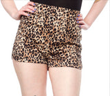 Leopard Print Sweetie Pie Shorts by Sourpuss