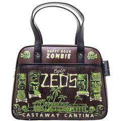Castaway Tiki Handbag by Sourpuss