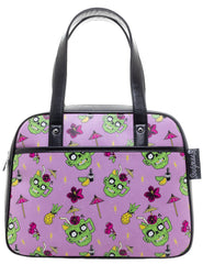 Zombie Drinks Bowler Purse by Sourpuss