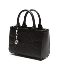 Elvira Mini Lucky Me Tote in Black Matte by Lux De Ville