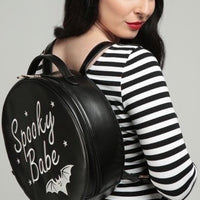 Spooky Babe Backpack in Black