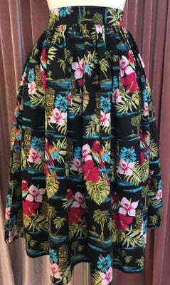 Tiki Swing Skirt in Tropical Noa Noa Print