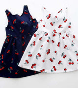 Retro Kids Cherry Dress