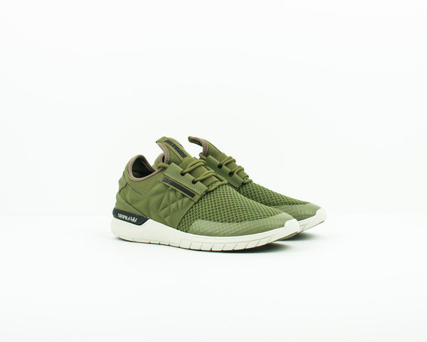 ZAPATILLA - SUPRA - 05664 357 FLOW RUN EVO 2 OLIVE BONE