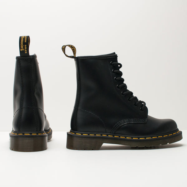 BOTA - DR. MARTENS - 1460 8-EYE SMOOTH BLACK 10072 004