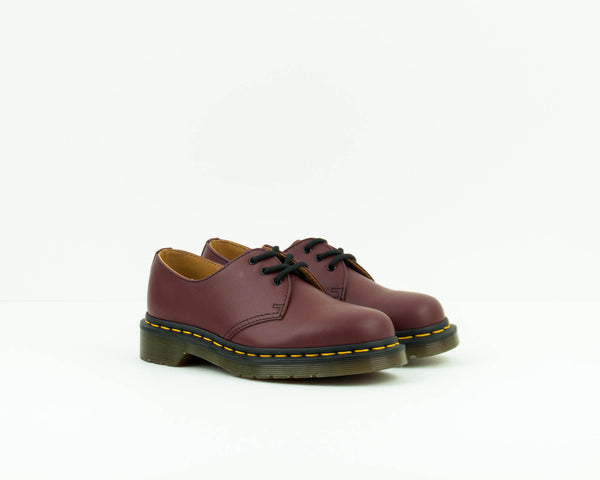 ZAPATO - DR. MARTENS - 1461 59 3-EYE SMOOTH CHERRY RED 10085 600