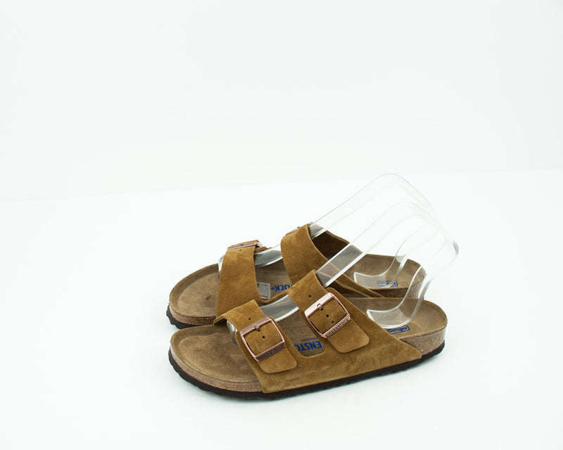 BIRKENSTOCK - SANDALS - ARIZONA SFB VL MINK 1009527