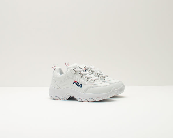 DEPORTIVO DE NIÑA Y NIÑO - FILA - 1010781 STRADA LOW KIDS CONTEMPORARY 1FG WHITE