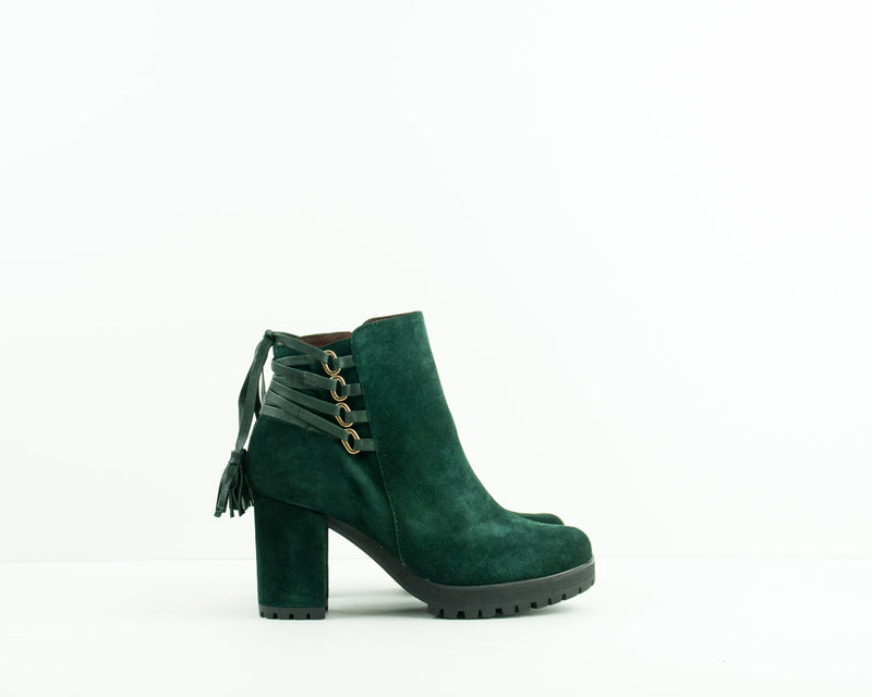 SEIALE - HIGH HEEL ANKLE BOOTS - 17598