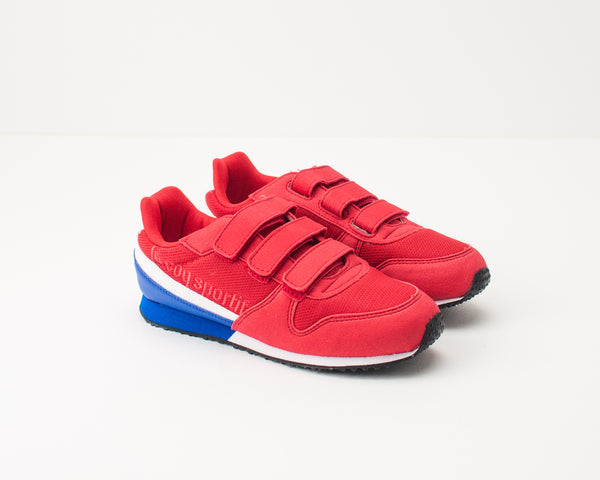 LE COQ SPORTIF - KID'S TRAINERS - 1910116 ALPHA II PS SPORT PURE RED COBALT