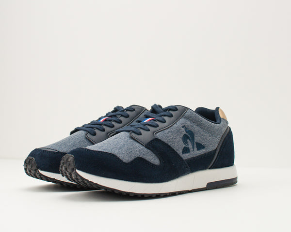 LE COQ SPORTIF - TRAINERS - 1920734 JAZY DENIM DRESS BLUE CROISSANT