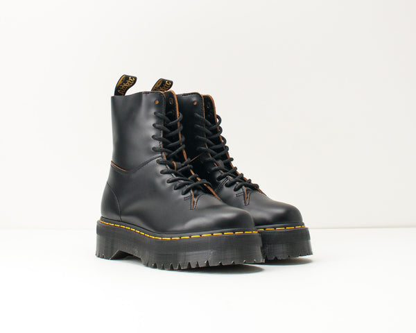 BOTA - DR. MARTENS - JADON DECON 10-EYE SMOOTH BLACK 25240 001