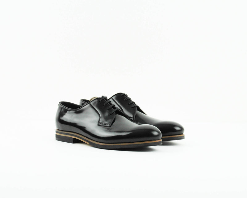 ZAPATO - GEORGE´S - ANTIC NEGRO 3382