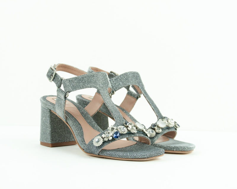 EZZIO - SANDALS WITH MID HEEL - 38583 R
