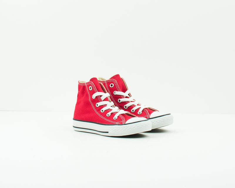 CONVERSE - KID'S TRAINERS - 3J232C CHUCK TAYLOR ALL STAR HI RED YOUTH