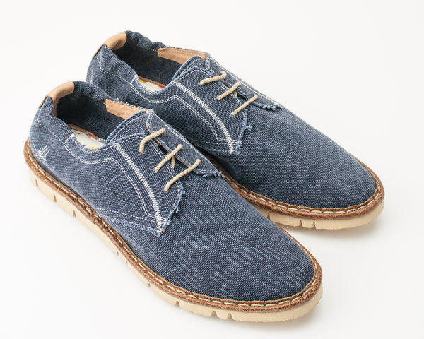 ZAPATO - WATSON&PARKER - 501556 DAPPER CANVAS WASHED BLUE