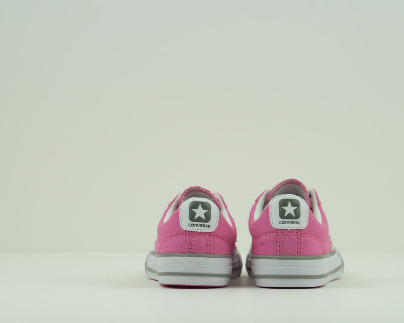 ZAPATILLA DE NIÑA - CONVERSE - 638441C STAR PLAYER OX CHUCK PINK WHITE PHAETON GREY