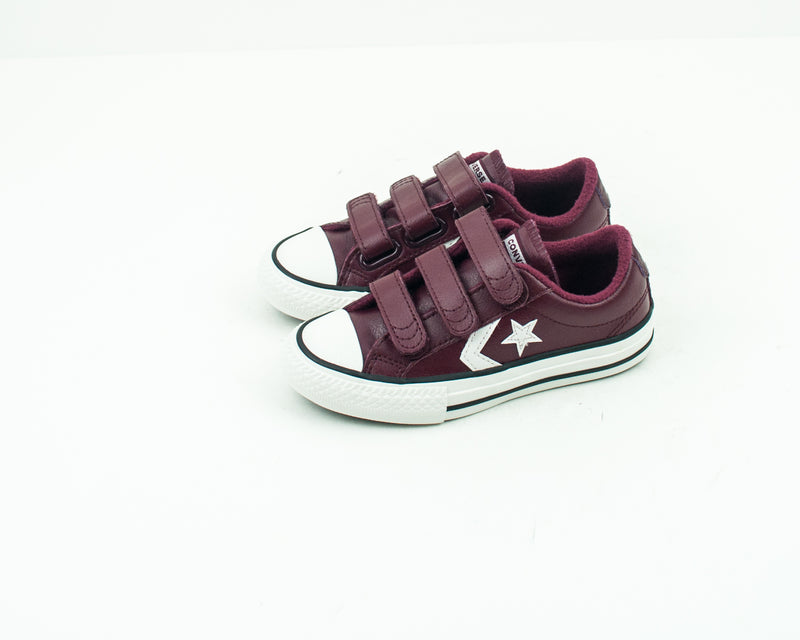 ZAPATILLA DE NIÑO Y NIÑA - CONVERSE - 661937C STAR PLAYER 3V OX DARK BURGUNDY
