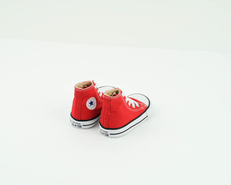 ZAPATILLA DE NIÑA Y NIÑO - CONVERSE - 7J232C CHUCK TAYLOR ALL STAR HI RED INFANT