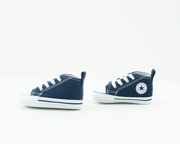 CONVERSE - KID'S TRAINERS - 88865 CHUCK TAYLOR FIRST STAR HI NAVY CRIB