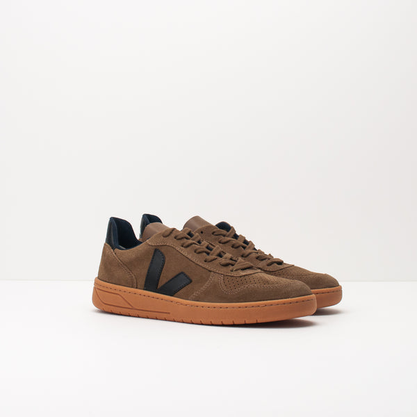 ZAPATILLA - VEJA - VX032077 V10 SUEDE BROWN BLACK GUM SOLE